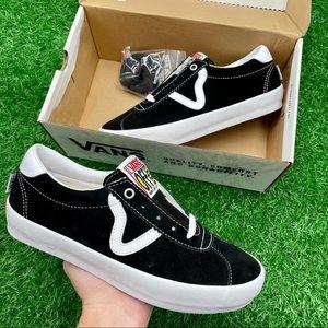 Vans Skate Sport Black/White
